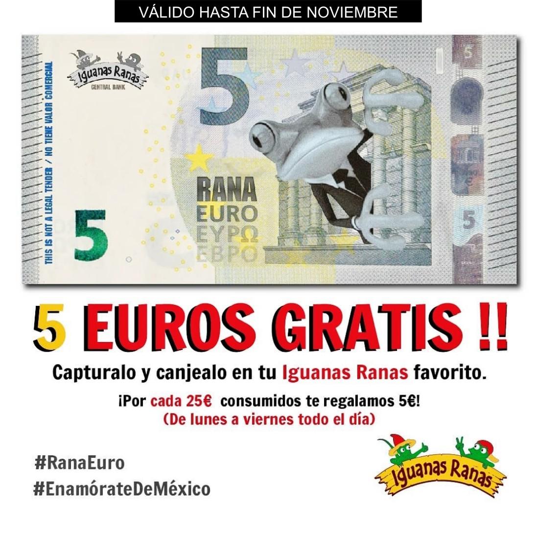 5 EUROS FREE !!!